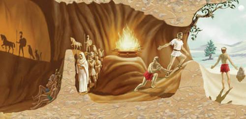 Mito da Caverna de Sócrates